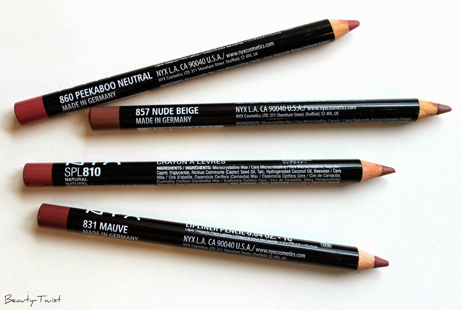nyx peekaboo neutral lip liner review