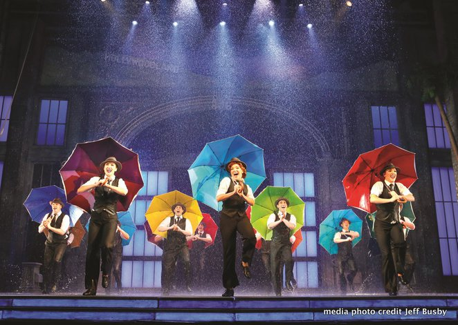 singing in the rain musical review