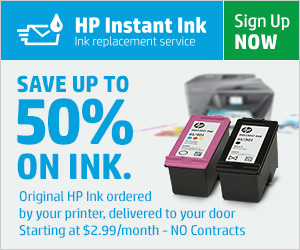 hp instant ink service review