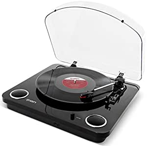ion audio max lp belt drive turntable review