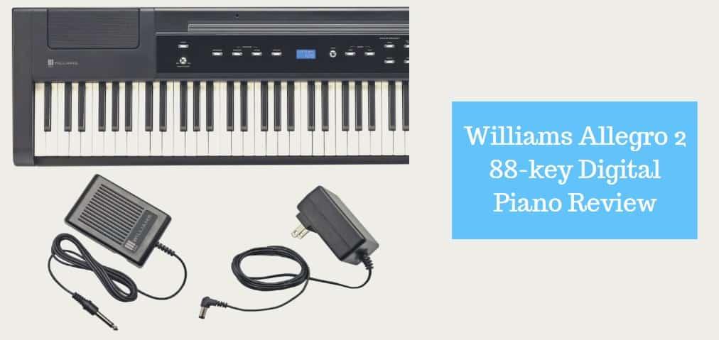 williams allegro 2 88 key digital piano review
