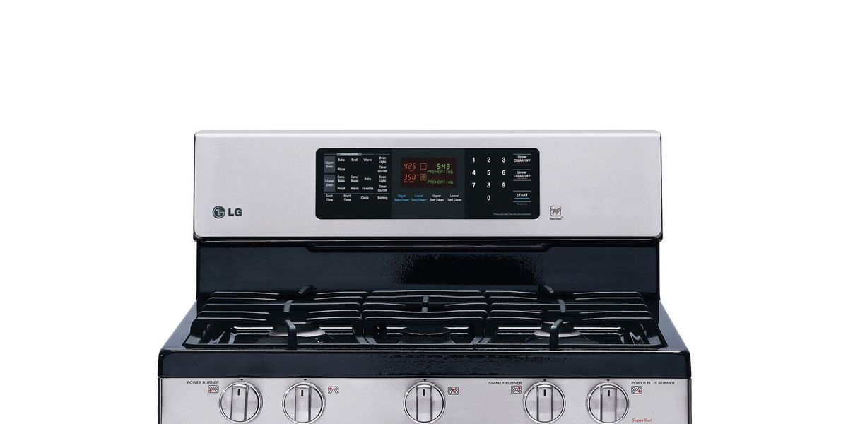 lg gas double oven reviews