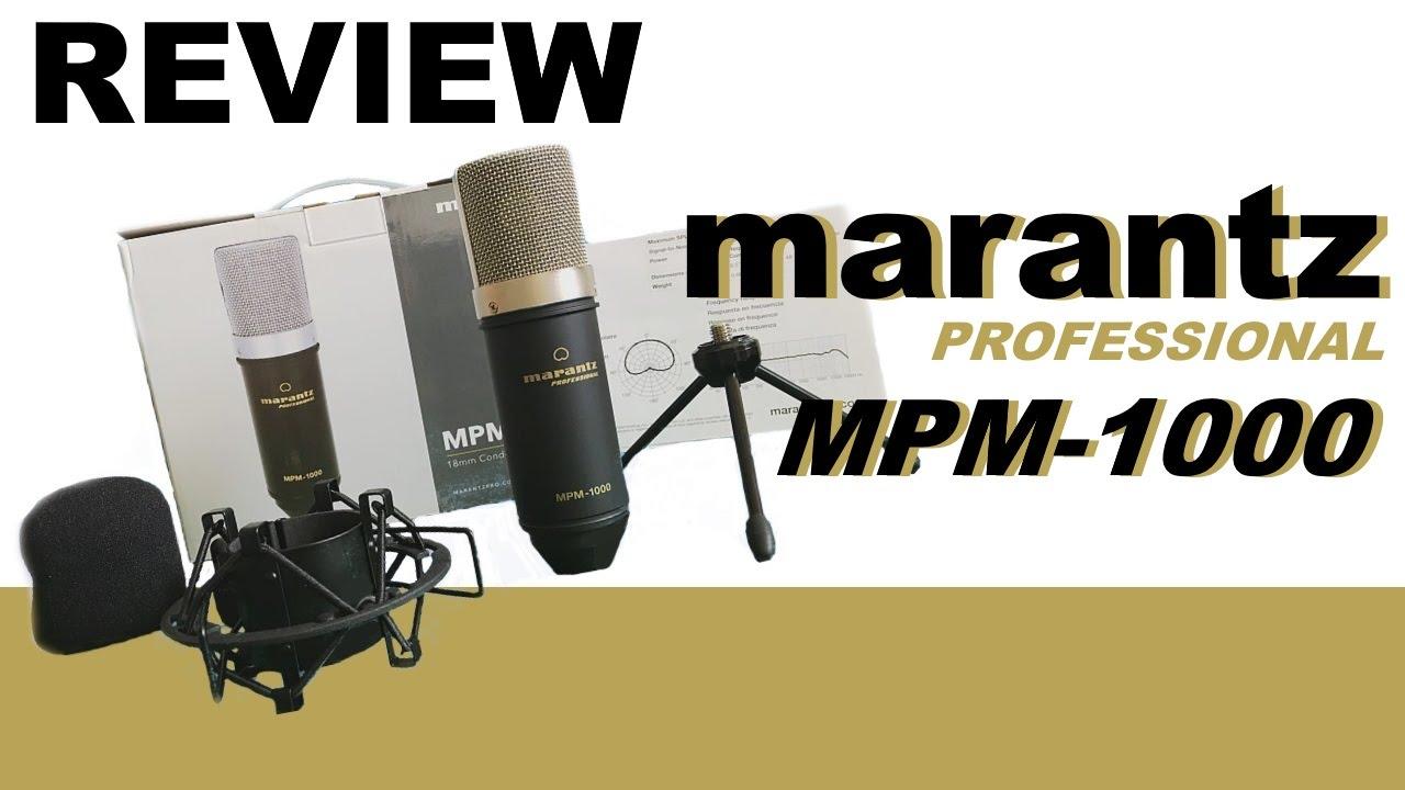 marantz professional mpm 1000 review