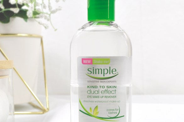 simple dual effect eye makeup remover review