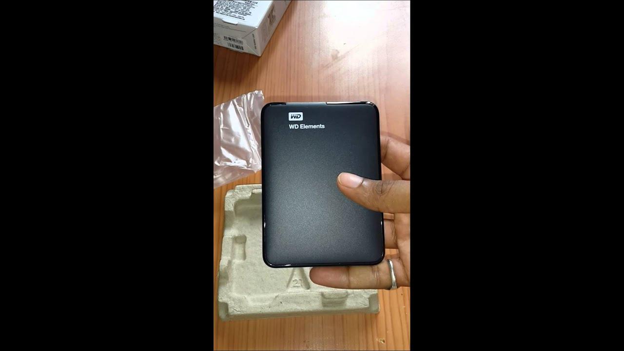 wd 1tb external hard drive review