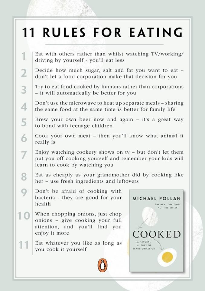michael pollan food rules review
