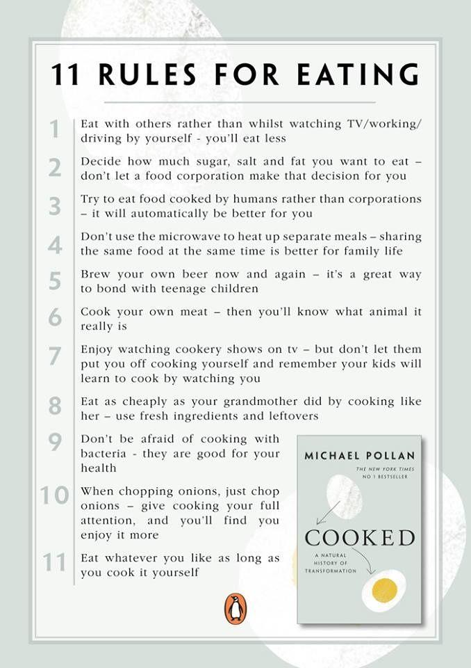 michael pollan food rules review