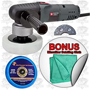 porter cable 7424xp dual action polisher review