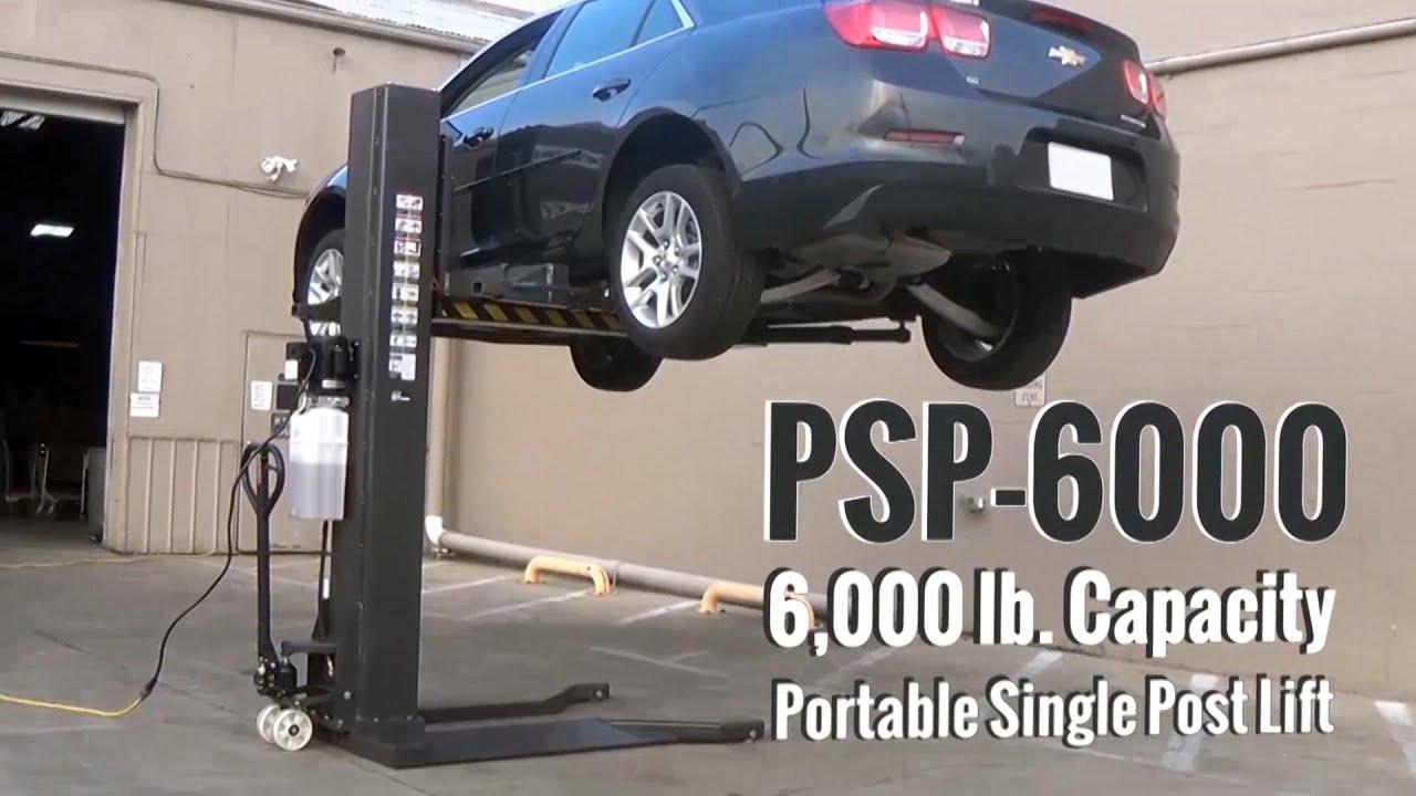single post car lift reviews