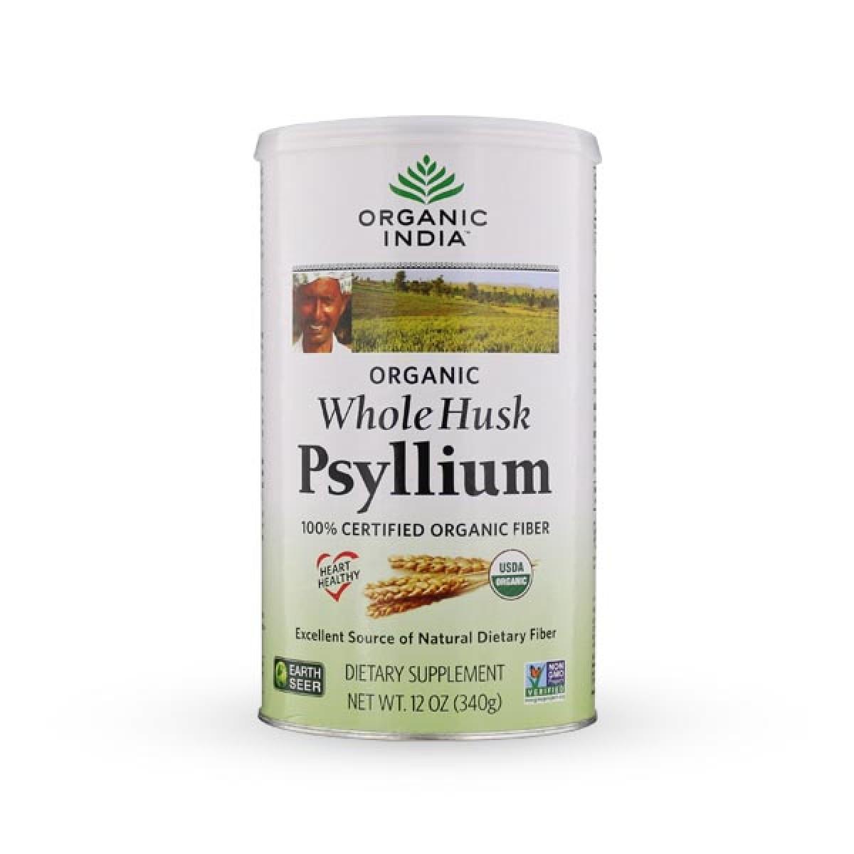 organic india whole husk psyllium reviews