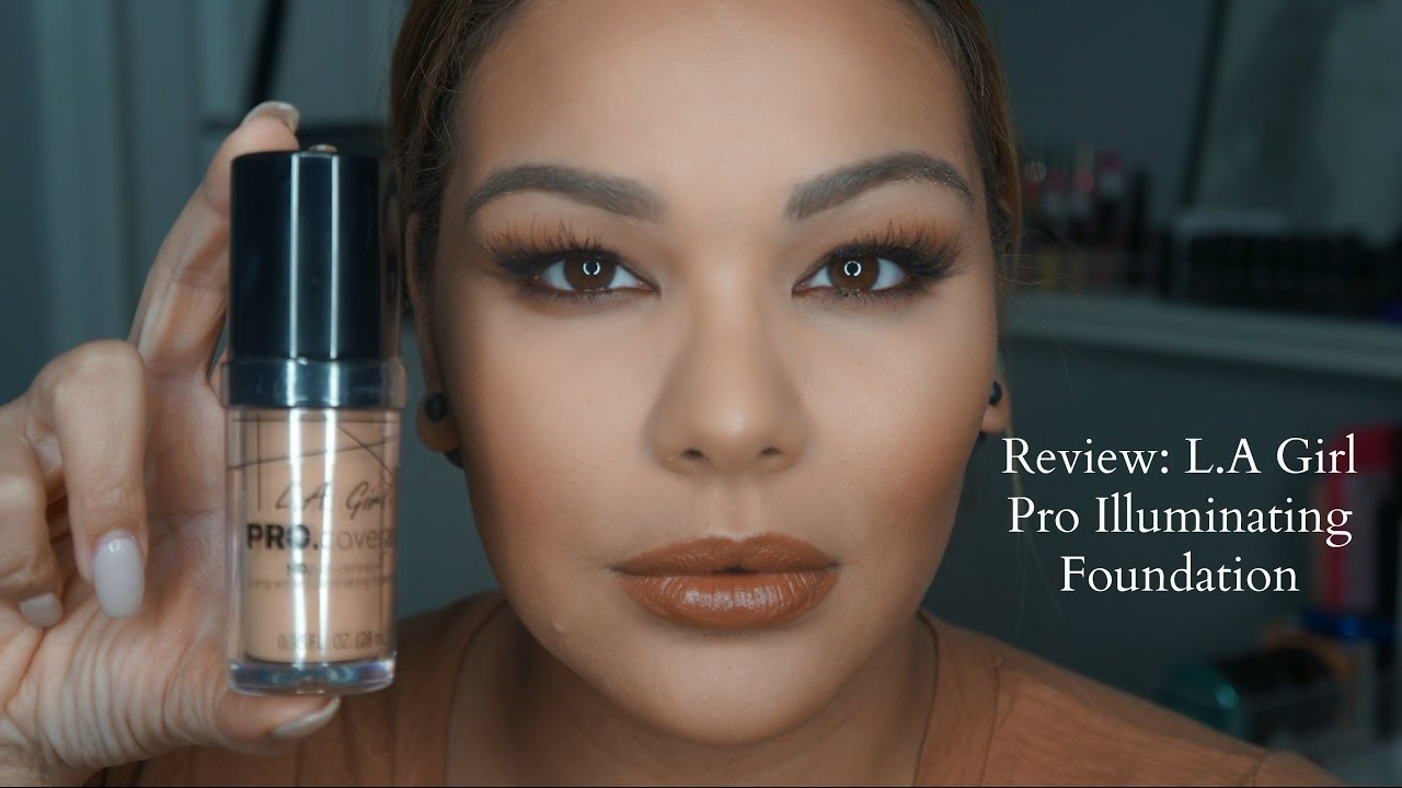 la girl liquid foundation review