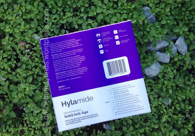 hylamide anti age serum review