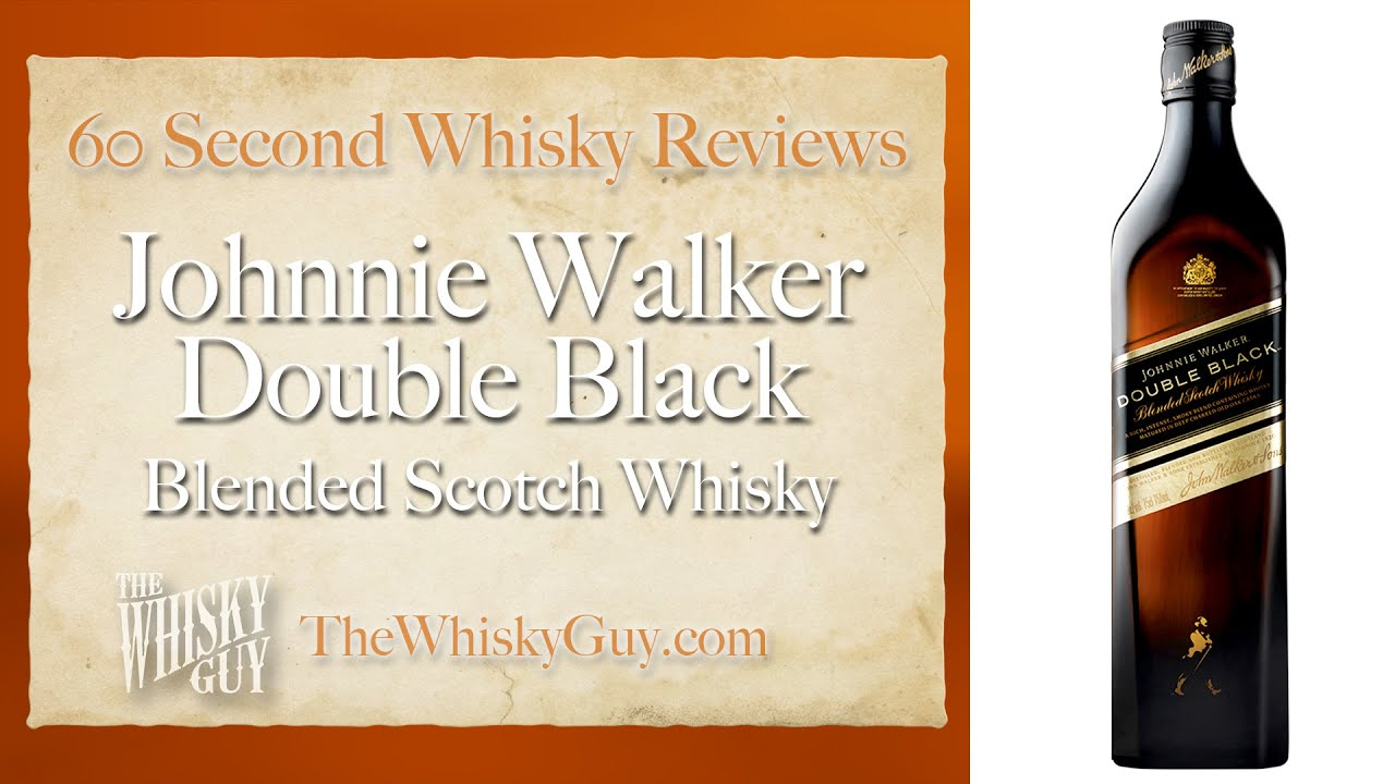 johnnie walker double black review