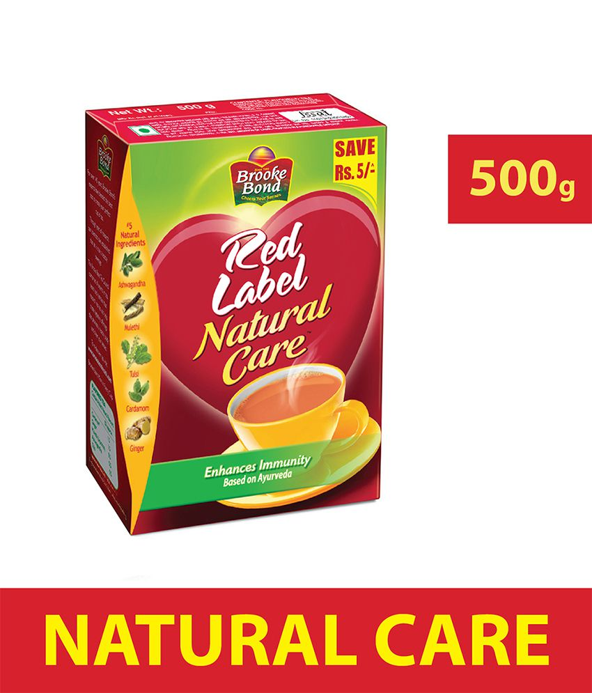 red label natural care tea review