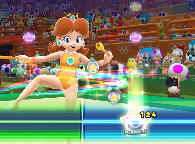 mario and sonic at the rio 2016 olympic games review