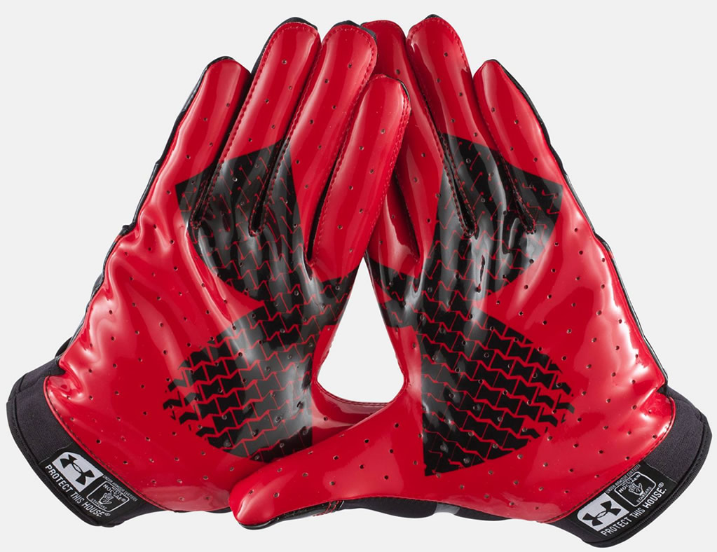 under armour f4 football gloves review