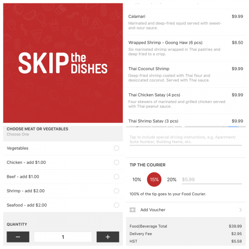 skip the dishes review toronto