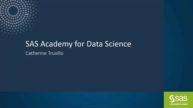 sas academy for data science reviews