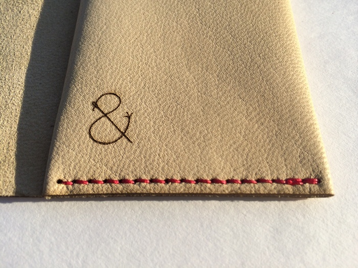 thread and leather wrap wallet review
