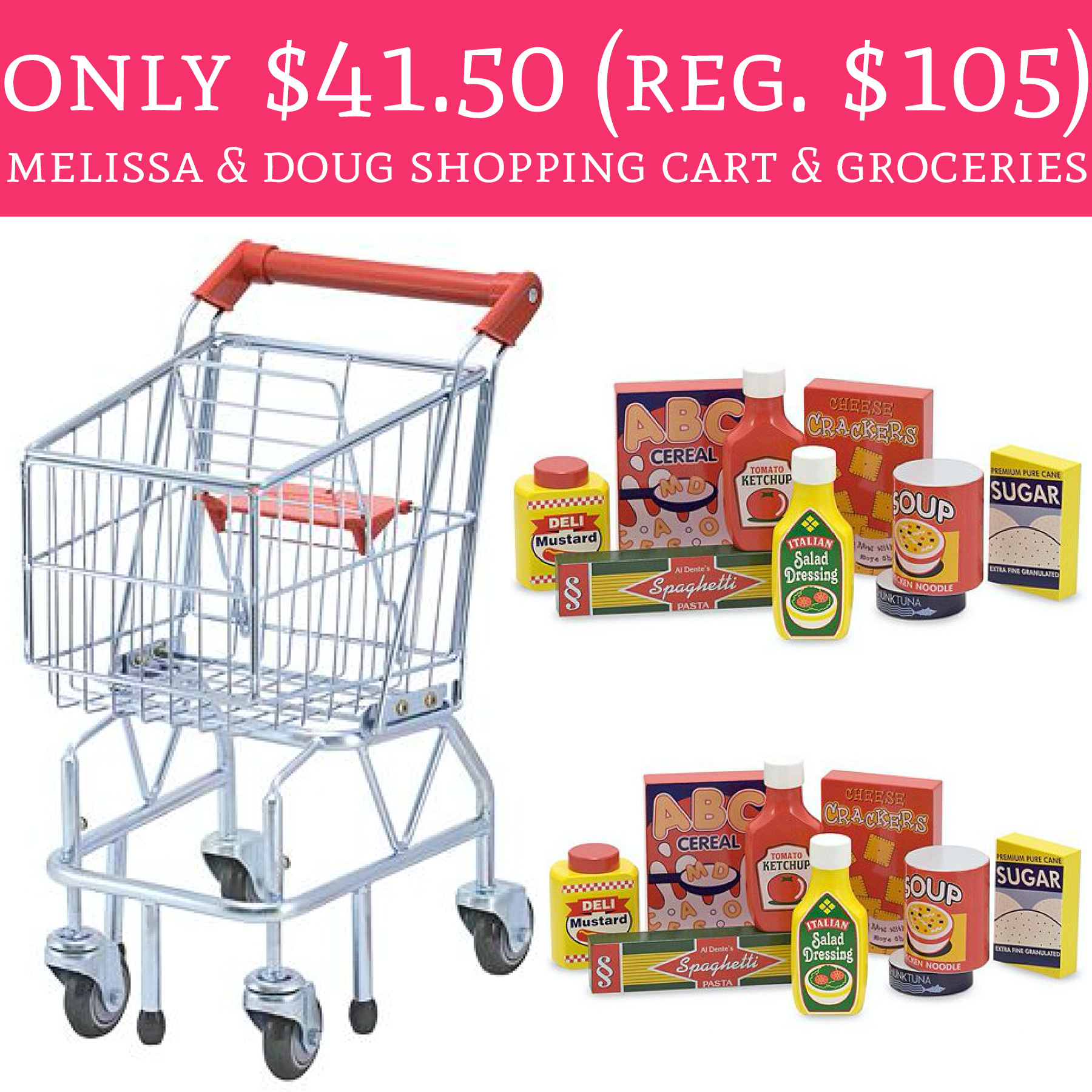 melissa and doug shopping cart reviews