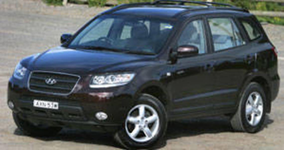 hyundai santa fe 2006 diesel review
