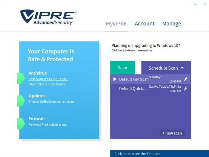 vipre internet security 2017 reviews