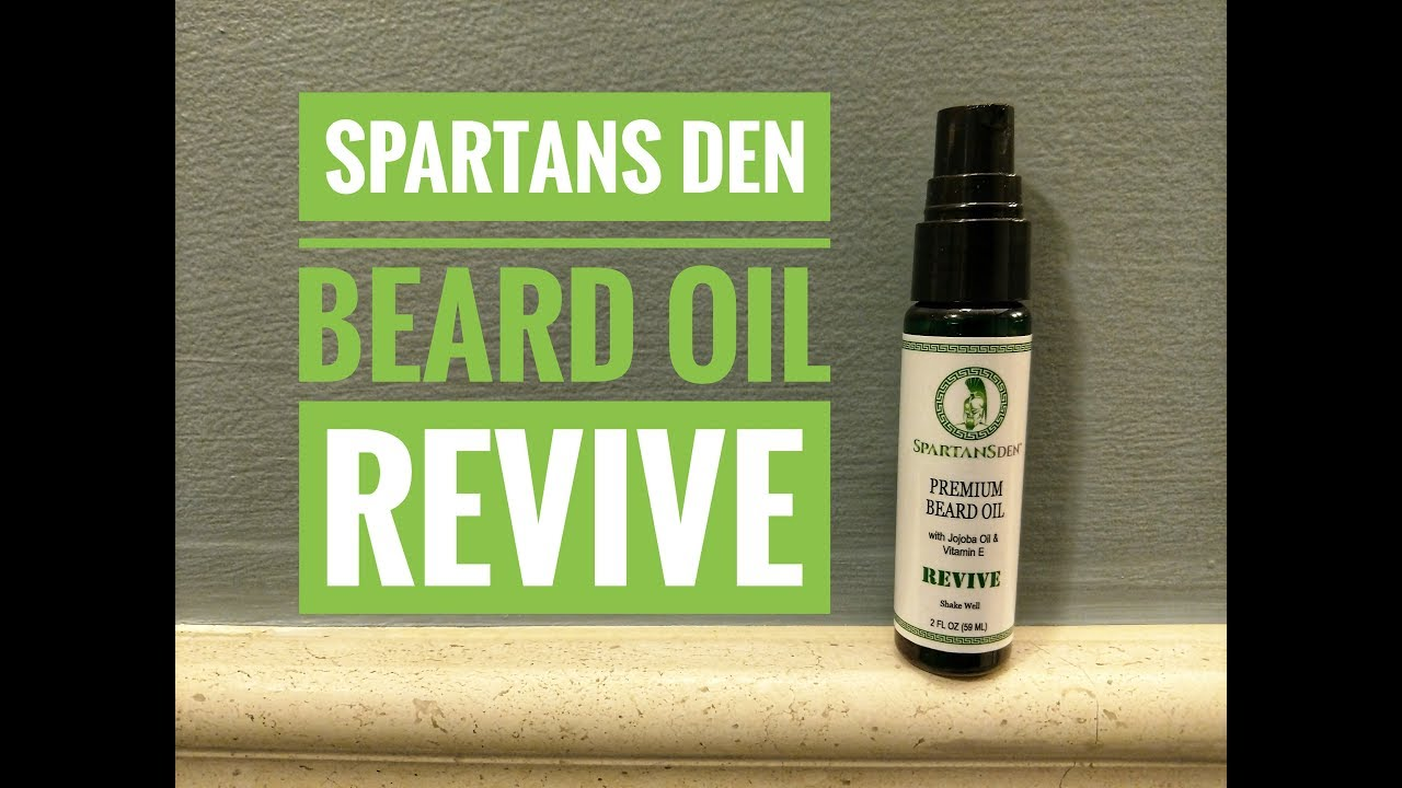 spartans den beard oil review