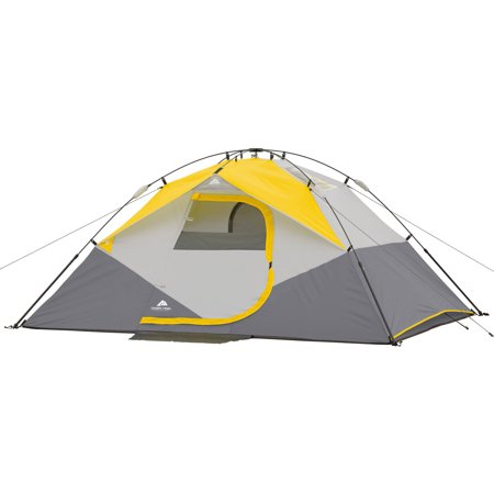 ozark trail 4 person instant dome tent review