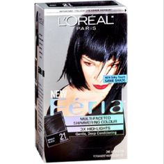 loreal feria bright black review
