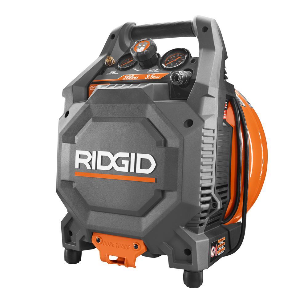 ridgid pancake air compressor review