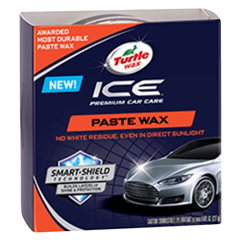 turtle wax ice paste wax review