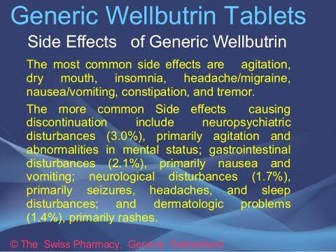 wellbutrin xl side effects reviews