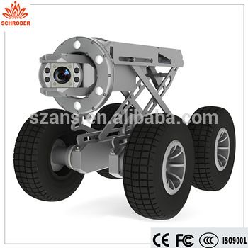 literature review of pipe inspection robot