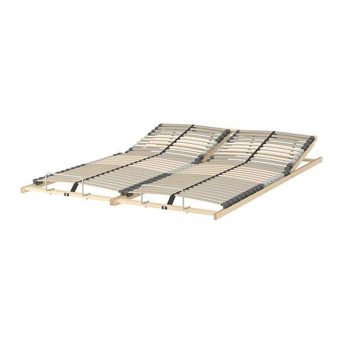 ikea adjustable slatted bed base review