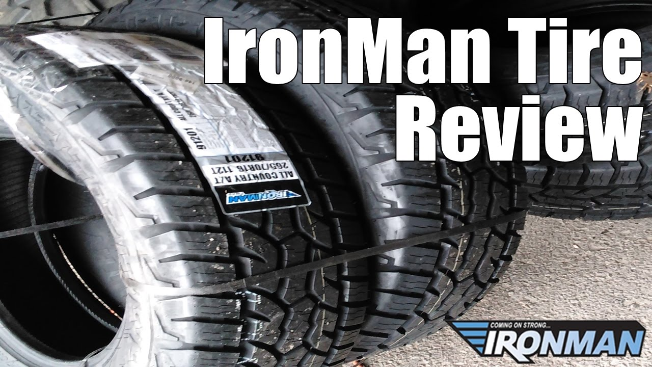 ironman all country tires review