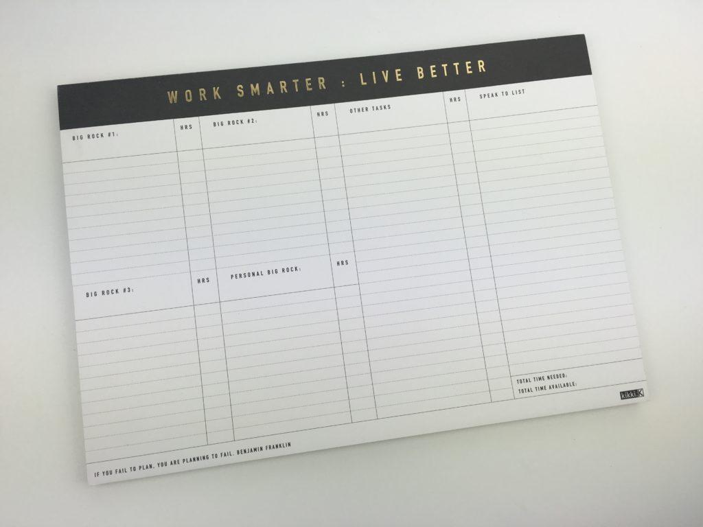kikki k time planner review
