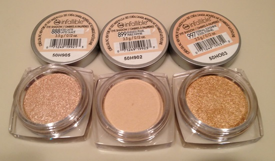 l oreal infallible eyeshadow review