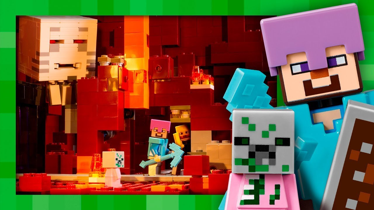 lego minecraft nether fortress review