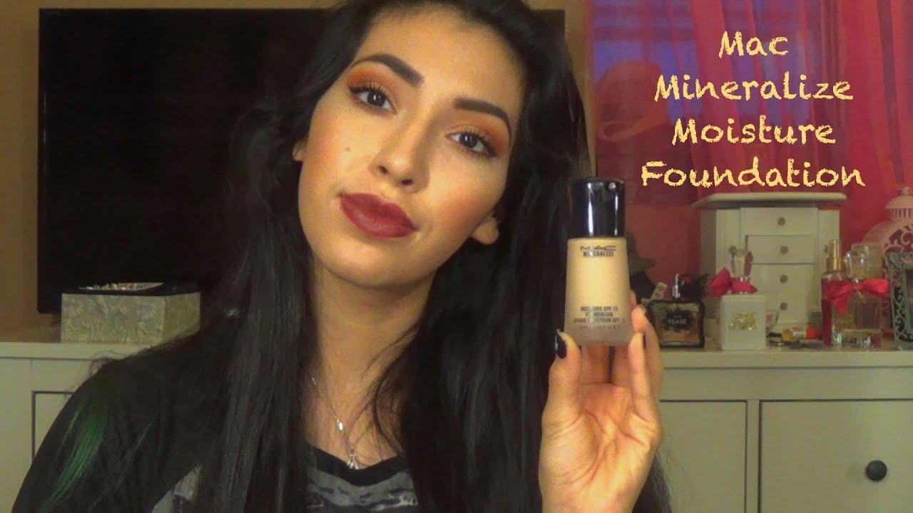 mac mineralize moisture foundation review