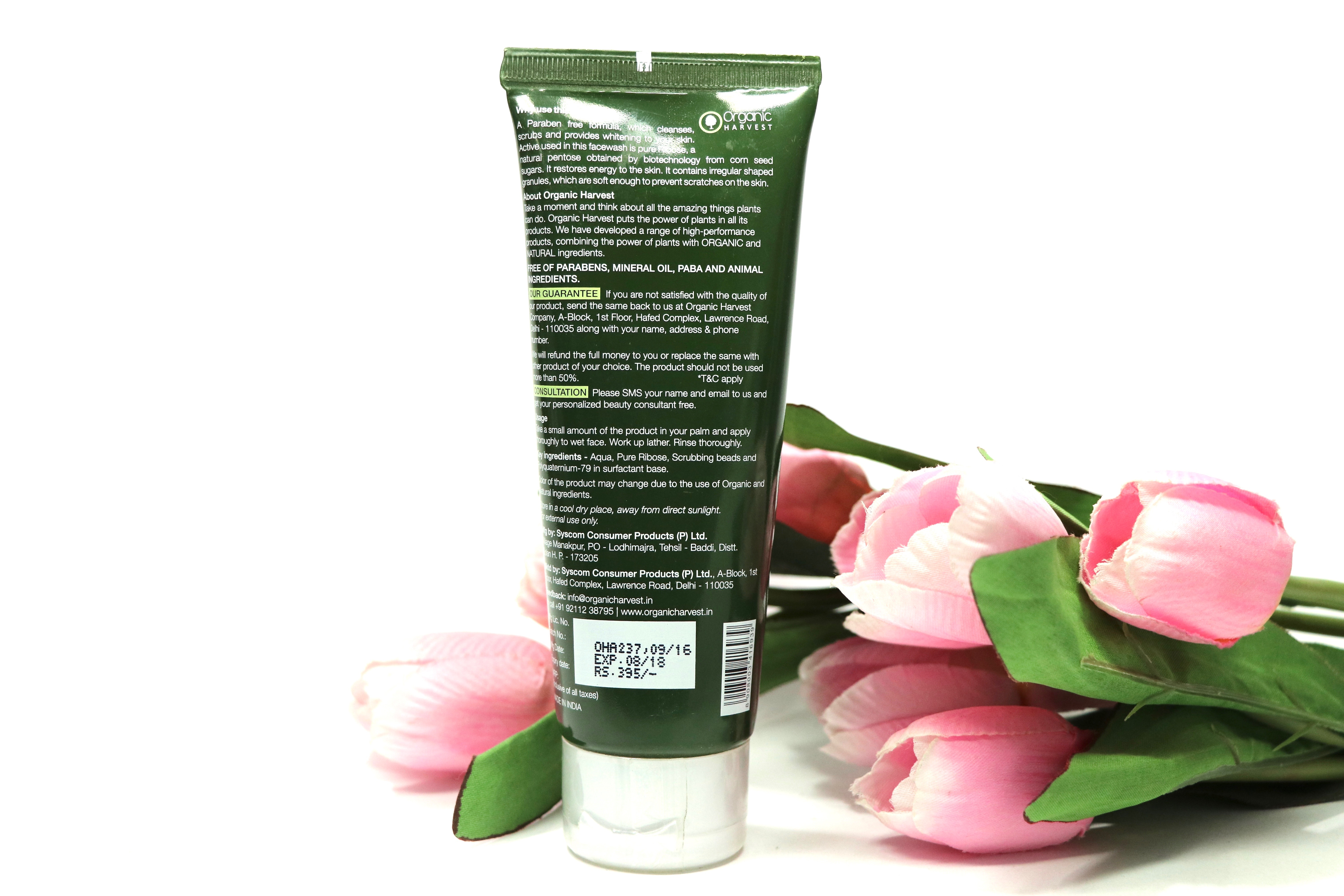 organic harvest neem face wash review
