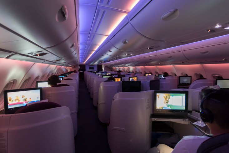 qatar a380 business class review