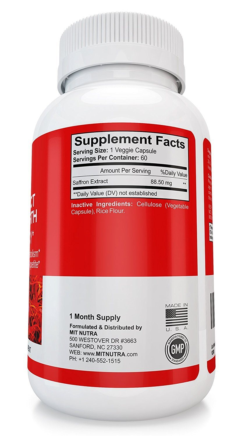 saffron extract appetite suppressant reviews