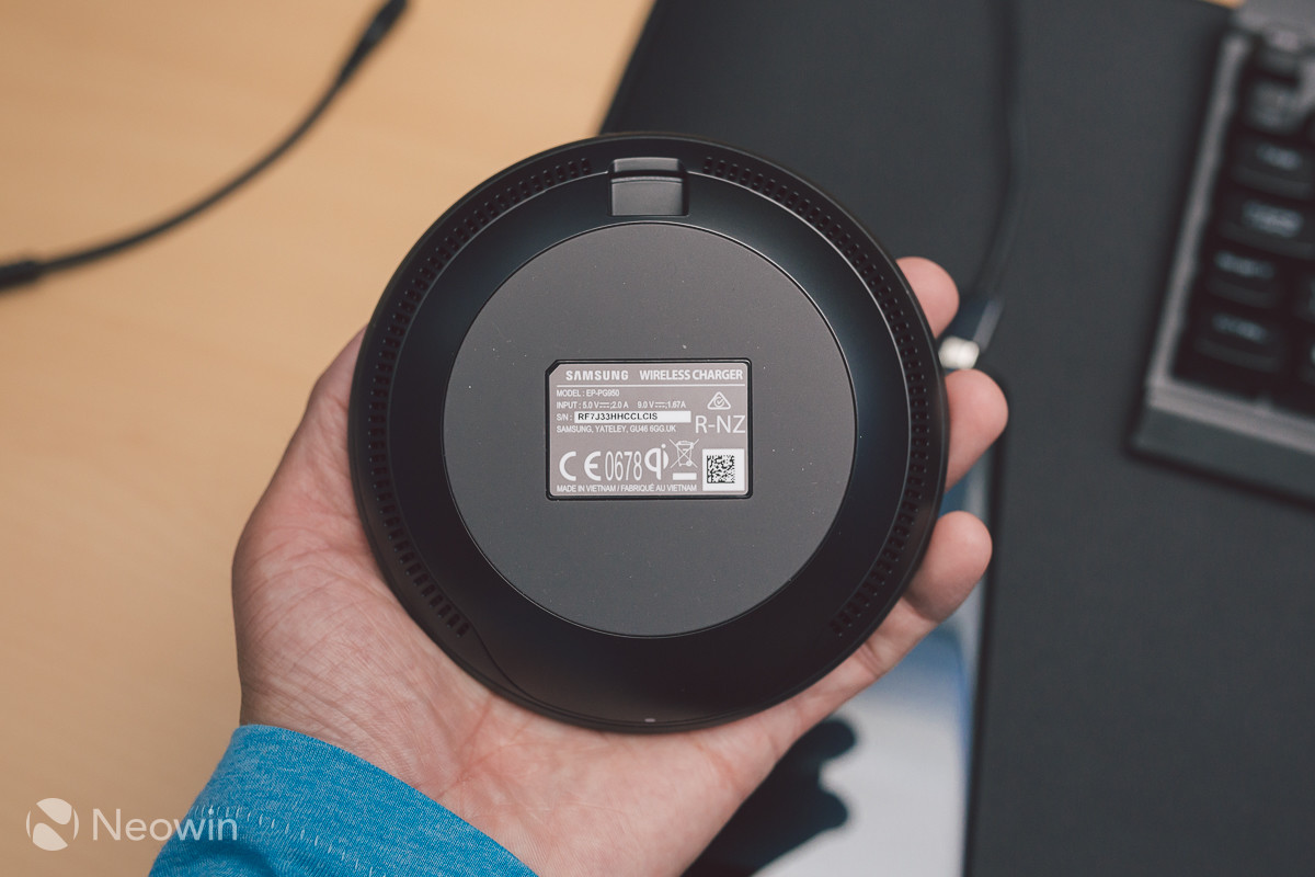 samsung wireless charging pad review