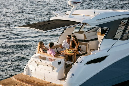 sea ray 350 coupe review