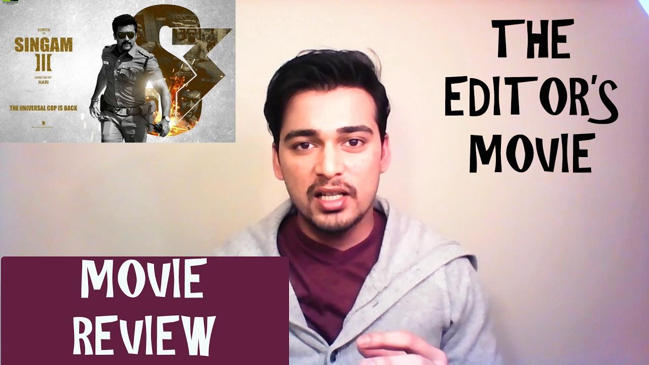 singam 3 movie review behindwoods
