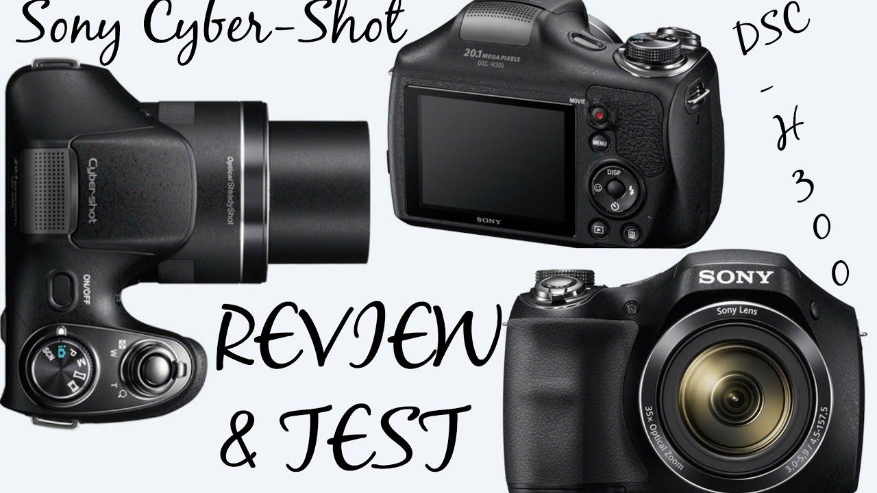 sony cyber shot dsc h300 review