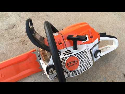 stihl ms 261 c review