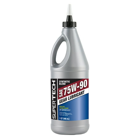 supertech 75w90 synthetic gear oil review