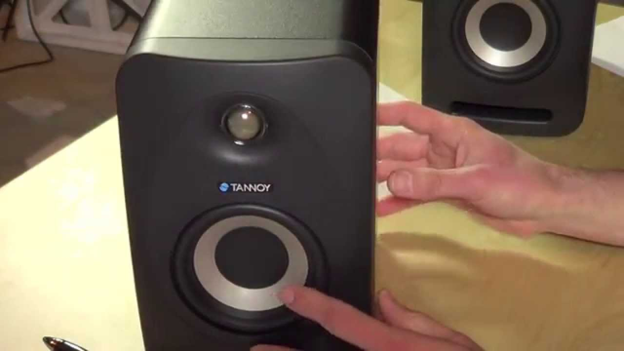 tannoy reveal studio monitors review
