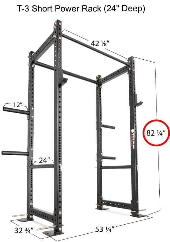 titan t2 power rack review